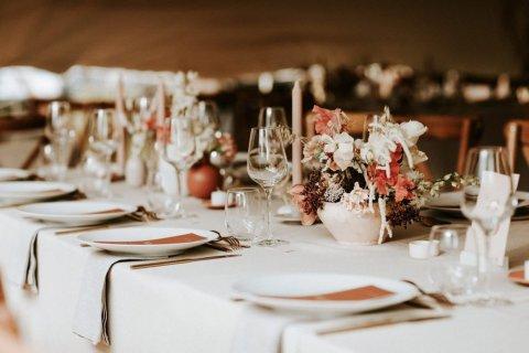 Photo e plan de table de mariage
